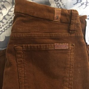 7 for All Mankind Cognac Cords